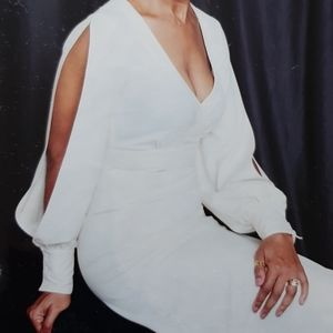 Blaque Label Open Sleeve Long Dress Size S